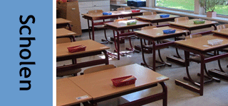 Doppen, knoppen, grepen, stelvoeten en wielen voor schoolmeubilair